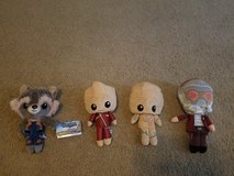 Guardians of the Galaxy Vol.2 Hero Plushies in Fort Riley, Kansas