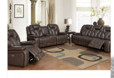 Robo Recliner set- NEW MODEL - in Black and Espresso price includes delivery in Ansbach, Germany