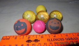 7 Bouncy Balls (2 have Jack-O-Latern on them) in Naperville, Illinois