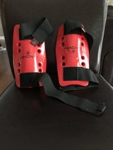 Foam shin guards for karate - medium youth in Beaufort, South Carolina