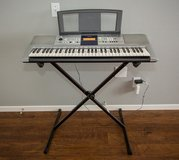 Yamaha PSR-E323 electric keyboard with stand in Camp Pendleton, California