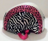 JUSTICE BIKE HELMET ANIMAL PATTERN SMALL in Fort Polk, Louisiana