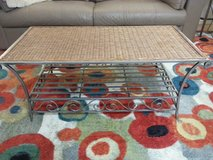 Coffee table. Wicker and Iron in 29 Palms, California