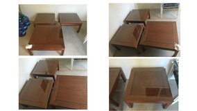 ROSEWOOD (1) COFFEE TABLE AND (2) END TABLES in Camp Pendleton, California