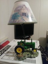 John Deere lamp in Fort Campbell, Kentucky