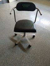 5 Wheel, Hydraulic Adjustable Black Leather Office Chair in Bolingbrook, Illinois