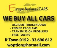 We Buy All Kinds of Used Cars in Ramstein, Germany