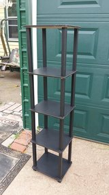 """5 shelf stand 14x12"""" 57"""" tall in Fort Riley, Kansas"""