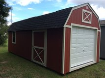 12x24 Lofted Garage - LIFETIME WARRANTY & FREE DELIVERY! in Fort Benning, Georgia