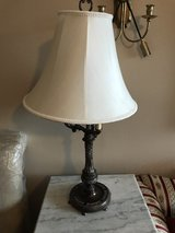two white lamps in Kingwood, Texas