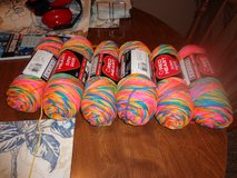 6 new skeins of verigated colored yarn in Kingwood, Texas