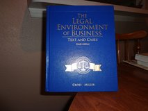 Legal Enviromental Of Business Text & Case- hardbound in Kingwood, Texas