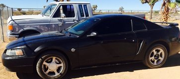 04 40th anniversary Ford Mustang in 29 Palms, California