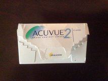 Acuvue 2 contact. Lenses +1.25 in Okinawa, Japan