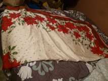 large Christmas tablecloth 60x102 oblong in Fort Bragg, North Carolina