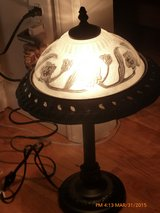 Top  glass side table  lamp in Fort Bragg, North Carolina