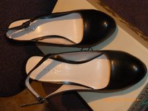 Nine West high heels open back slide shoes sandals 7M in Fort Bragg, North Carolina