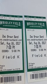 zac Brown TIX in Naperville, Illinois