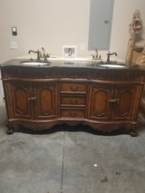 Marble vanity for bathroom With mirrors in Beaufort, South Carolina