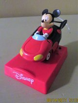 Disney's Mickey Driving a Convertible Sports Car on Disney Base in Plainfield, Illinois