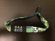 Kaaboo concert 3 day pass in Camp Pendleton, California