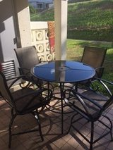 PATIO table and 4 chairs in Okinawa, Japan