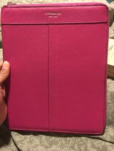 Coach pink Leather case  for ipad 1,2,3 in Okinawa, Japan
