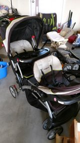 SIT N STAND DOUBLE STROLLER in Camp Lejeune, North Carolina