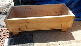 """Wood planter 41x17.5"""" 14"""" tall in Fort Riley, Kansas"""