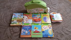 leapfrog tag reader Junior 6 books carrying case in Yorkville, Illinois