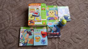 leapfrog tag reader Junior 5 books a flashcard in Yorkville, Illinois