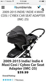 Bumbleride Indie Car Seat Adapter in Cherry Point, North Carolina