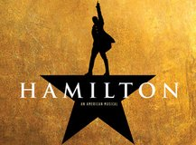 (2) HAMILTON Tickets September 16, 2017 in Naperville, Illinois