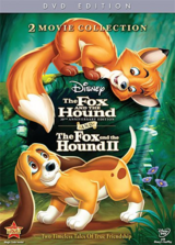Disney's The Fox and the Hound 1 and 2 on DVD in Camp Pendleton, California