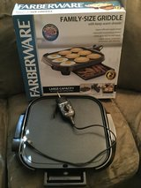 Faberware Family-Size Griddle in Bolingbrook, Illinois
