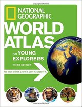 National Geographic World Atlas for Young Explorers XL Hard Cover Book Age 8 - 12 in Chicago, Illinois