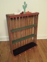 Wood Crate Shelf Arts Crafts Project in St. Charles, Illinois