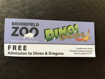 Brookfield Zoo Dinos & Dragons Ticket in Naperville, Illinois