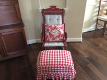 East Lake Chair and Footstool in Baytown, Texas