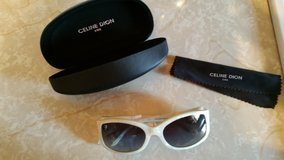 Celine Dion Sun Glasses with Hard Case and Cleaning Cloth in Macon, Georgia