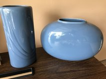 2 BLUE VASES in Plainfield, Illinois