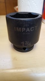 "Armstrong 1 3/4"" Impact Drive Socket in Travis AFB, California"