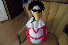 Elvis Geese Goose Outfit Clothes Outdoor Statue Garden Decor in Belleville, Illinois
