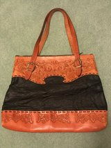 Purse : handmade, leather, new, large in Lockport, Illinois