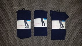 New! Girl's Navy Blue Opaque Tights (3 available) in Chicago, Illinois