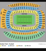 Bears vs Browns 8/31 - 4 tickets plus parking in Naperville, Illinois