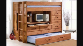 Bunk bed with desk in Naperville, Illinois