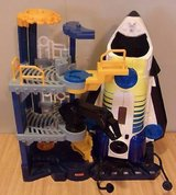 FISHER PRICE IMAGINEXT SPACE SHUTTLE STATION ROCKET MOON BASE SOUNDS LIGHTS WORK in Camp Pendleton, California