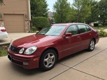 LEXUS GS 300 Automatic RWD Red 4 DR Sedan in Naperville, Illinois