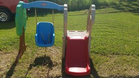 little types toddler slide and swing in Pearland, Texas